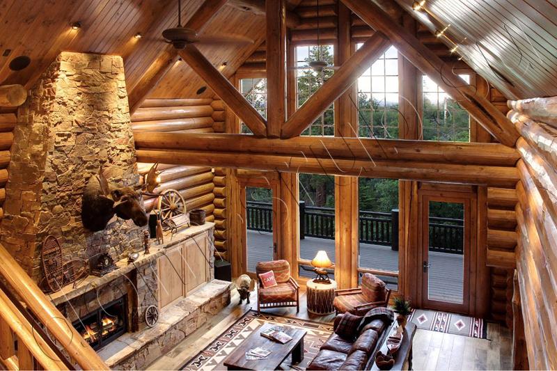 Фото проектов домов из дерева