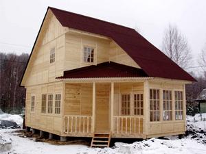 Изготовление недорогих деревянных домов
